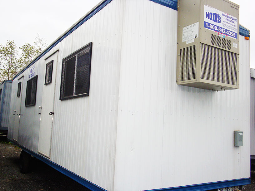 storage space office trailers near new york city nyc from mobile on demand