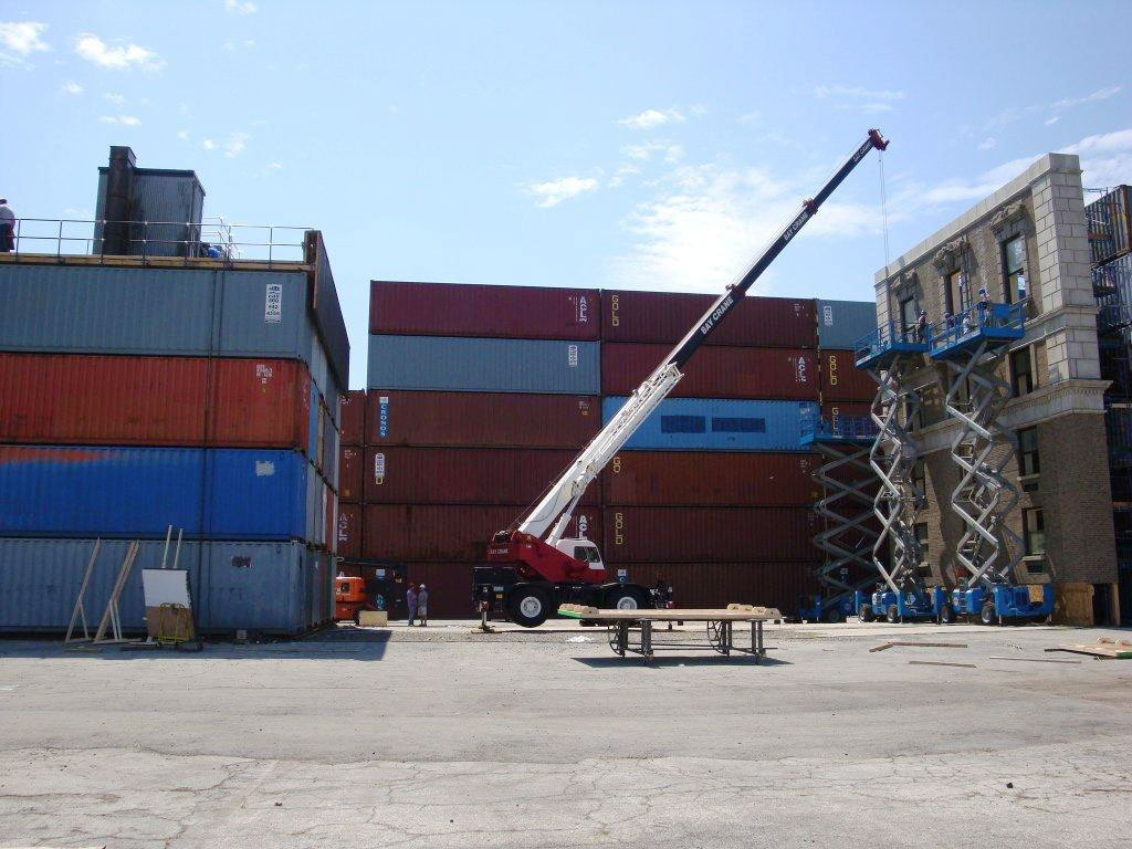storage containers on dock mobile on demand near NYC