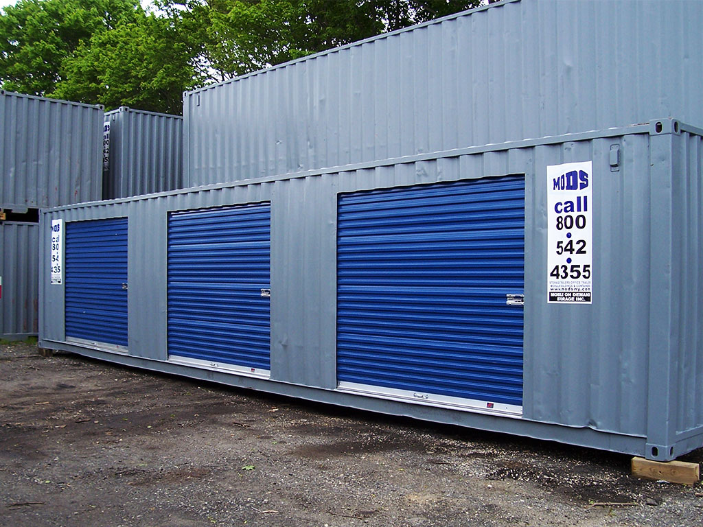 custom storage container units nyc by mobile on demand
