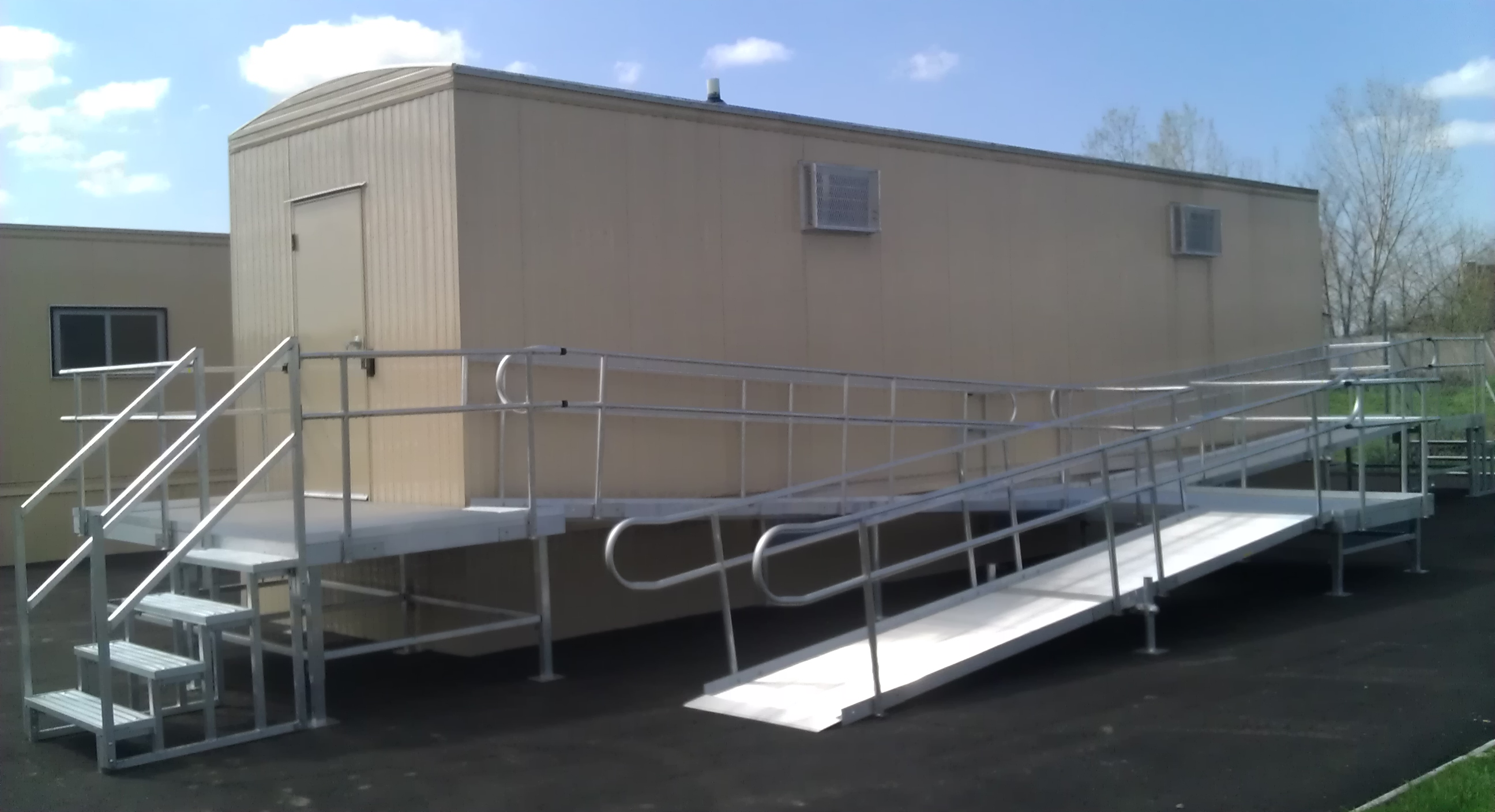 custom office trailers handicap accessible near nyc from mobile on demand